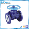 DN150 Cast Steel WCB Flanged Acid Diaphragm Valve