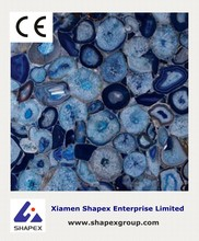 Natural blue agate marble stone with superior quality