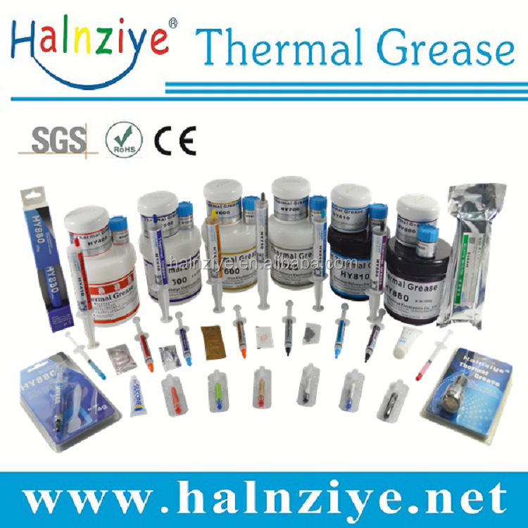 Good electrics insulating HY510-OP2g themal compound silicon grease use in CPU/LED heat sink