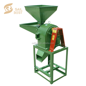 Full Automatic Corn Rice Soya Bean Flour Mill For Sale