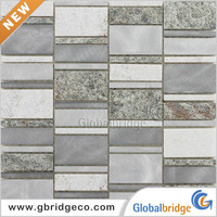 Factory Wholesale New Products Backsplash Metal Tiles M8ATRE133