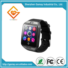 Best Selling Sedentary Remind Bluetooth Q18 Smart Watch Accessories for Men