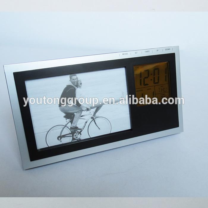 with a video camera digital photo frame clock 3d wall sticker clock