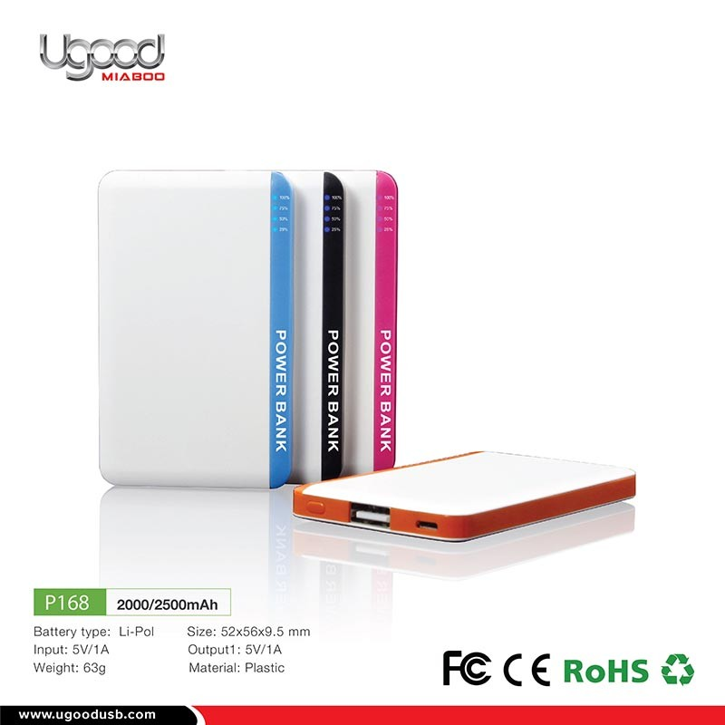 Fashion Style White Smart Power Phone Power Bank For Travel