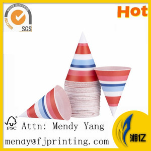 machine made wholesale cone shape paper cup