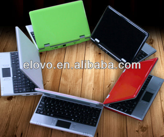 7inch laptops android google UMPC WM8850 MINI PC