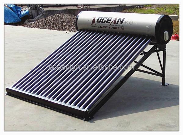 Солнечный водонагреватель под давлением