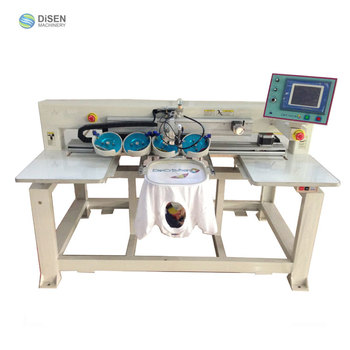 Velour knitting cloth industrial multifunction computerized automatic ultrasonic hot fix rhinestone setting machine