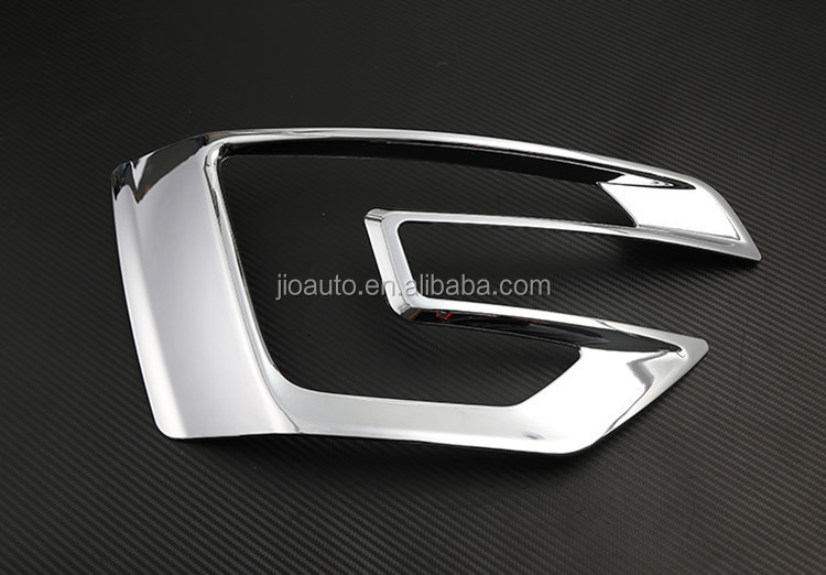 Car accessories ABS Chrome front fog lamp cover trim for ford explorer 2016 parts