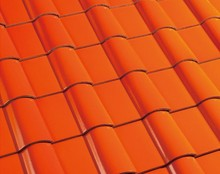 200X200mm Ceramic Roof Tile Spanish Roof Tile High Quality