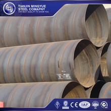 SSAW API 5L spiral welded carbon astm x60 ssaw steel pipe