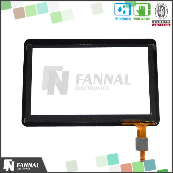 capacitive touchscreen panel for touchscreen gps navigations
