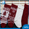 Red Color Big Size Wholesale customized Xmas Ornaments christmas knitted stockings