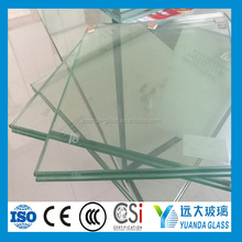 10.76mm Heat Soaked Sound Control Laminated Glass With Toughened And Grinding