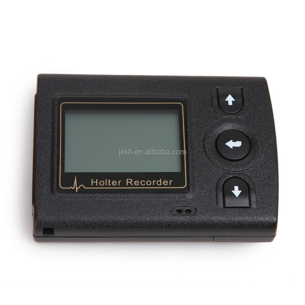 24/72 hour Recording time ECG Holter recorder System Holter Analysis Software cardiac with CE