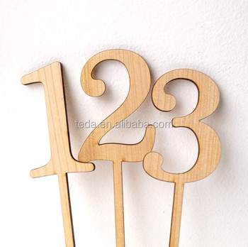 wholesale wood numbers