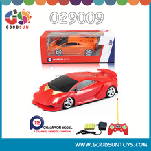 New products 1:16 scale 4 channel rc car battery operated toy car with light plastic toys children toys no include battery