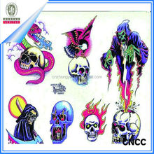 2015 Top Design New Style Hallowmas Tattoo Sticker for Beauty Body/hot sell body temporary tattoo sticker