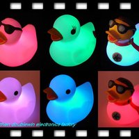 China Rubber Light Up Bath Duck