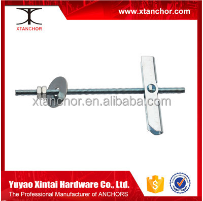 Anchor wing Spring Return Toggle Switch China spring toggle manufacture spring toggle with bolt and nut
