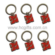 2012 Red Metal keychain GFT-L116