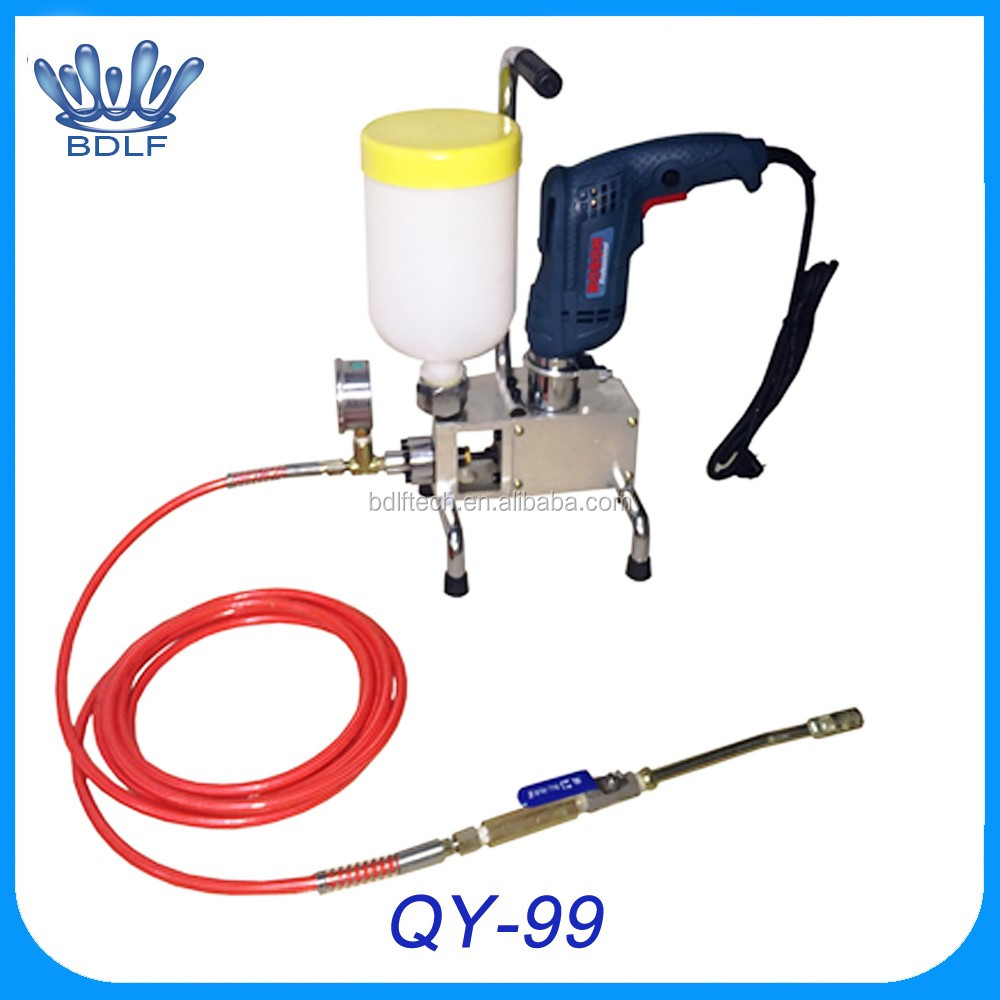factory sales price injection grouting pump manual pumping polyurethane injection