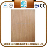 cheap good quality 9mm white oak plywood for sale for furniture