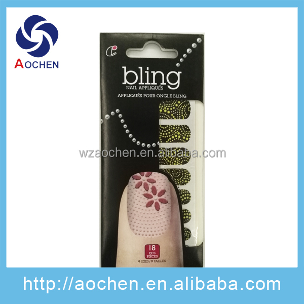 Water Transfers Decall Nail Sticker With Yellow Dots