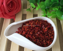 2017 new crop dehydrated dried/dr/dry sweet red bell pepper flakes export price