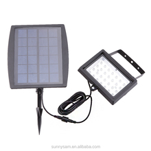 Solar Garden Lawn Light IP65 Waterproof Outdoor 28 LED Floodlight Decorative Lighting Yard Pathway Lamp
