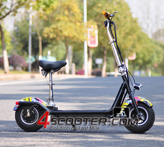 Hot Sale Two Wheels fun rider electric scooter