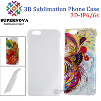 Best Selling Products 3D Plastic Blank Cell Phone Cover, Customized Mobile Phone Case Cover for iPhone 6/6S