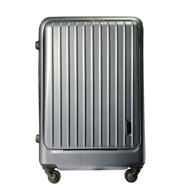 ABS PC front open 20 inch trolley suitcase