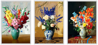 Unique and cool 3d effect high definition lenticular changing pictures of beautiful flowers