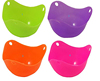 Silicone Egg Poaching Cups Silicone Egg Poacher Cookware Cups in Vivid Colors