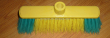 home cleaning tools with soft bristle broom