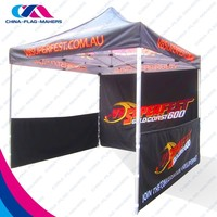 high quality fold aluminum frame print canopy tent