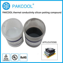 PAKCOOL thermal conductivity silicon Sealing glue for Fiber Laser