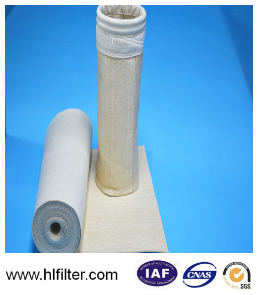 Original material pps dust collector filter bag for carbon black producing for water treatment