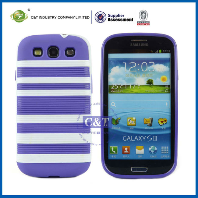 Combo Case For Samsung Galaxy S3,for samsung galaxy s3 i9300 case