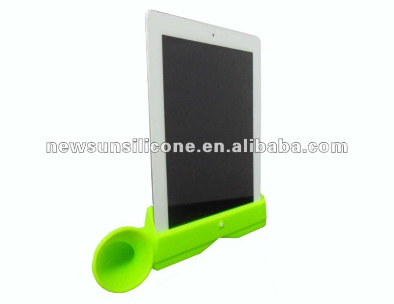 silicone speaker for ipad 2--factory price
