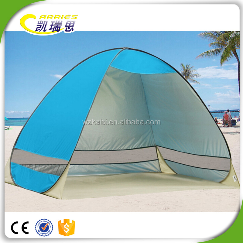 Easy Folding Manufacturer Supply Beach Shelter Sun Shelter Pop Up Camping Beach Tents