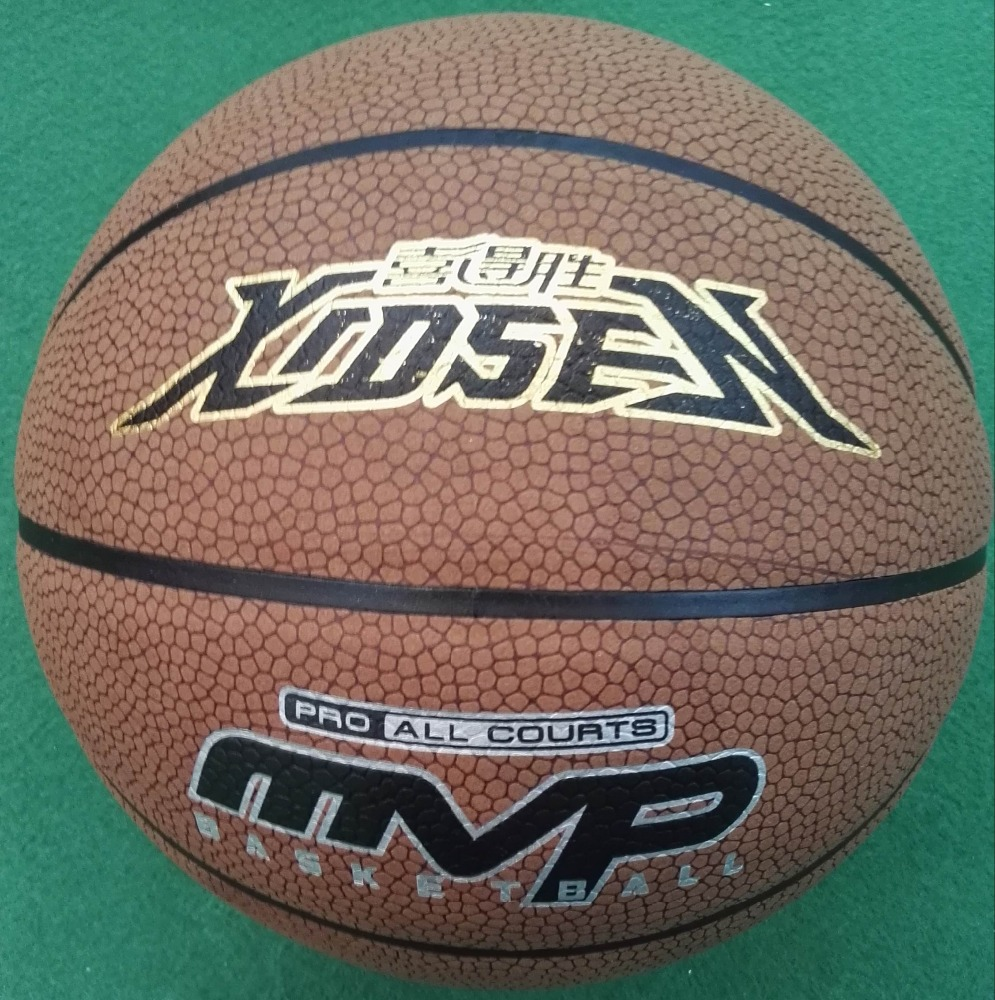 Leather Ball Material and Ball Type cow leather basketball,genuine match basketball