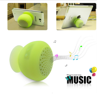 silicone bluetooth wireless suction cup waterproof speaker for car oem