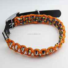 2017 Various 3Mm Rope Paracord pet Paracord Buckle pet Collar for Dogs Cats Pet