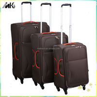 Fashion weekender bag luggage trolley trave bag with universal wheels for kids school trolley bag
