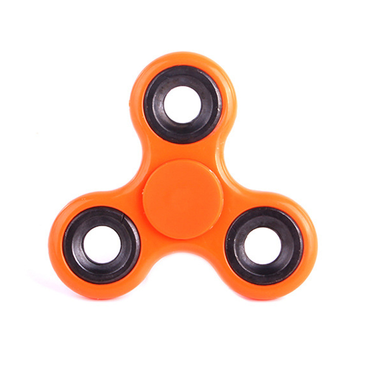 2017 Hot Sales Universal finger toy 608 plastic tri-spinner competitive price classics fidget spinner