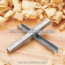 84 staples 21ga nails fastener hardware steel iron industry using furniture joint galvanized Iso9001 Iso14001