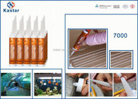 Trade Assurance transparent silicone adhesive for glass