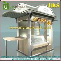 2015 Unique made outdoor fast food kiosk | outdoor coffee food kiosk design